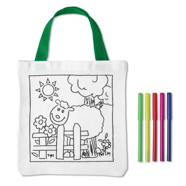 Παιδική βαμβακερή τσάντα με σχέδιο – 8450