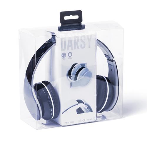 Ακουστικά τηλεφώνου με σύνδεση bluetooth και θύρα usb για επαναφόρτιση σε ατομικό ειδικό κουτί