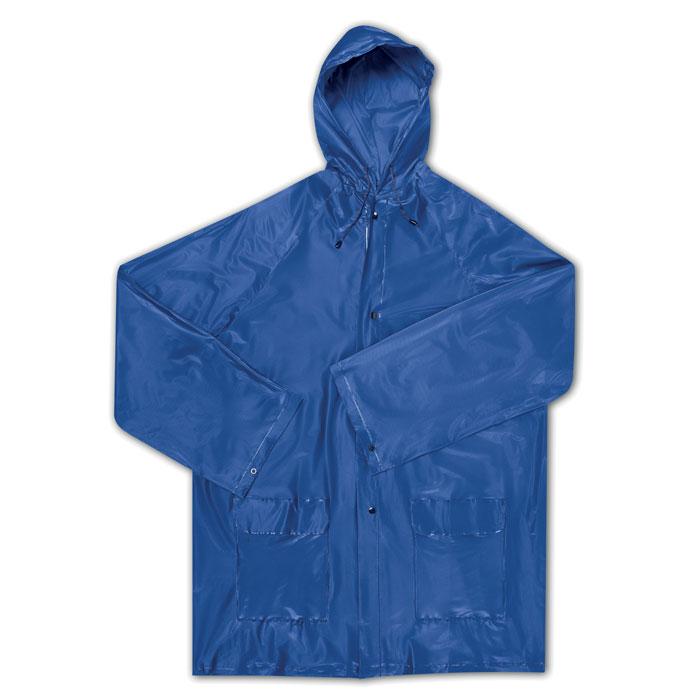Αδιάβροχο με κουκούλα και τσέπες σε θήκη