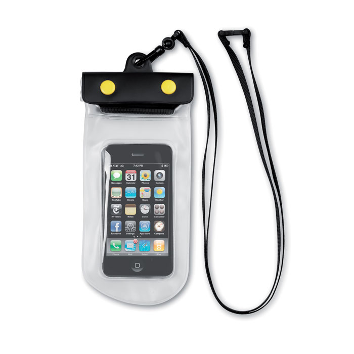 Αδιάβροχη θήκη iPhone από PVC που επιτρέπει τη λειτουργία οθόνης αφής