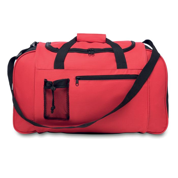 Τσάντα ταξιδίου με μπροστινή τσέπη με φερμουάρ και ρυθμιζόμενο ιμάντα ώμου