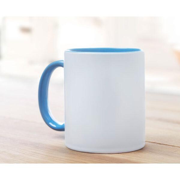 Δίχρωμη κεραμική κούπα – 8422