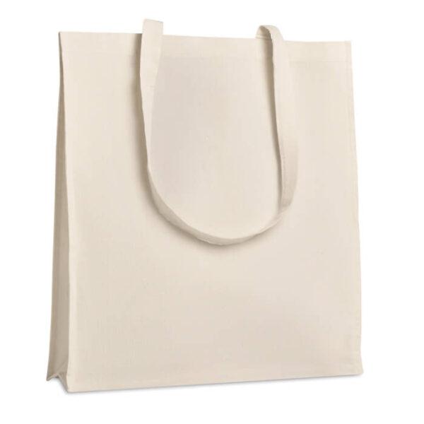 Τσάντα βαμβακερή με πιέτα – 9060