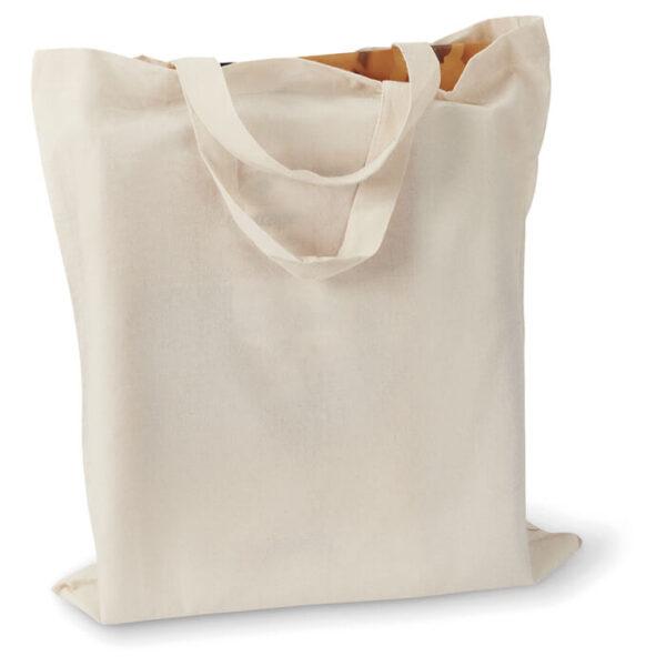 Τσάντα βαμβακερή με κοντά χερούλια – 3547