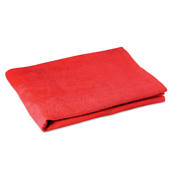 cotton-beach-towel-8280-red-1