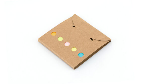 Mini οικολογικός φάκελος με sticky notes – 3191