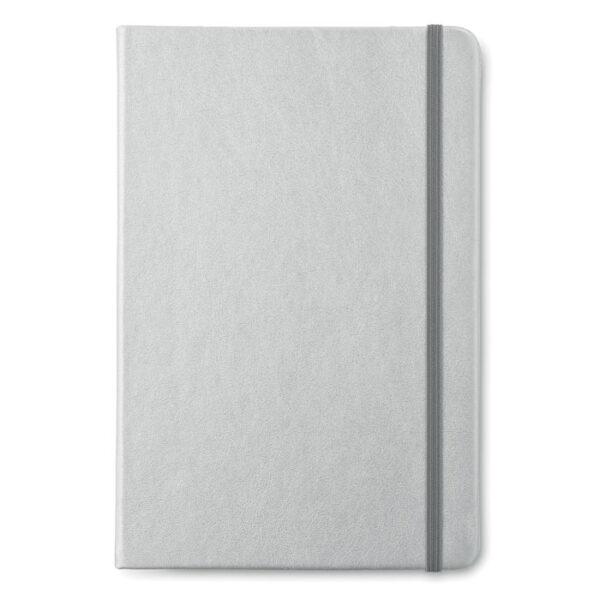 Μεταλλιζέ σημειωματάριο Α5 – 8637