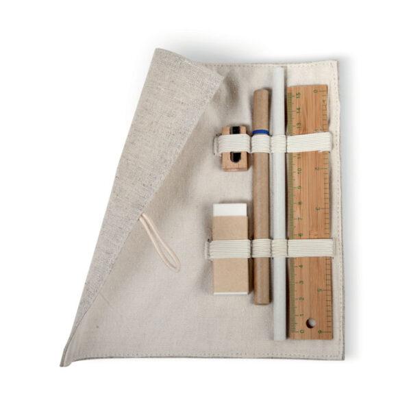 Σετ γραφής σε υφασμάτινη κασετίνα – 7755