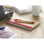set-kraft-notebook-A5-pen-3775-red-1