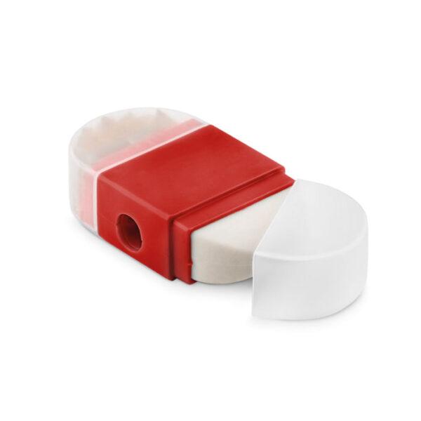 Πλαστική ξύστρα με γόμα – 9556