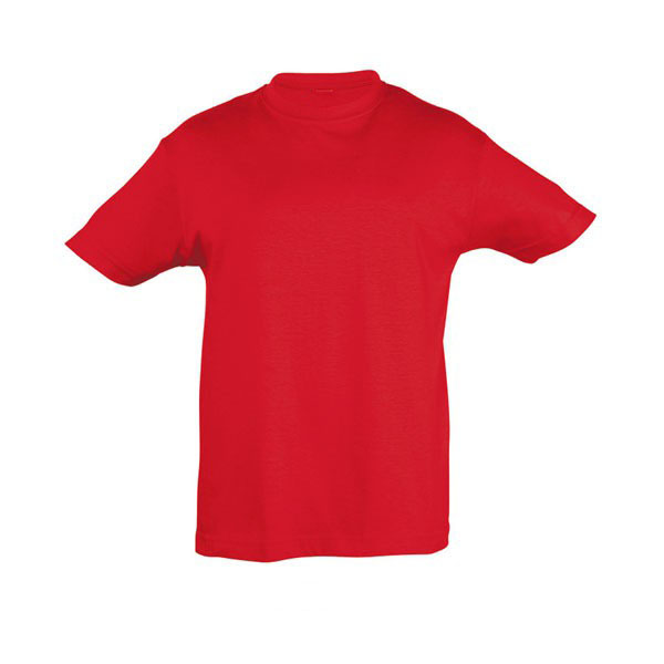 T-shirt παιδικό 100% βαμβακερό με στρογγυλή λαιμόκοψη