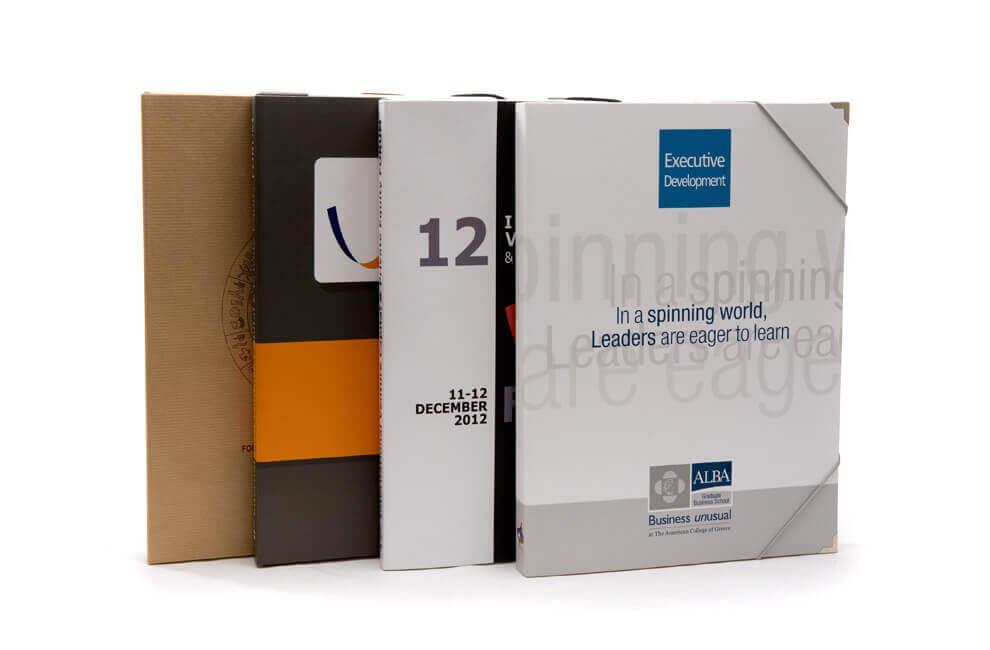 Συνεδριακό υλικό - Φάκελοι - Ειδικές κατασκευές