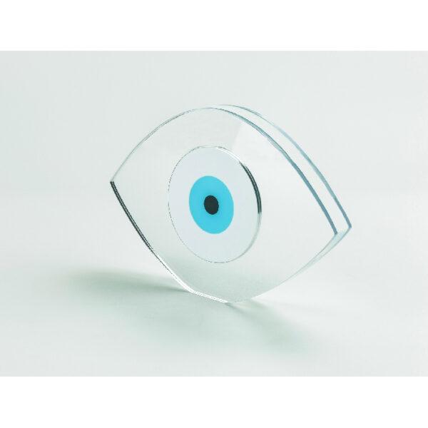 """Αναμνηστικό plexi-glass """"Μάτι""""- 010"""