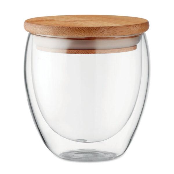 Γυάλινη κούπα με καπάκι – 9719