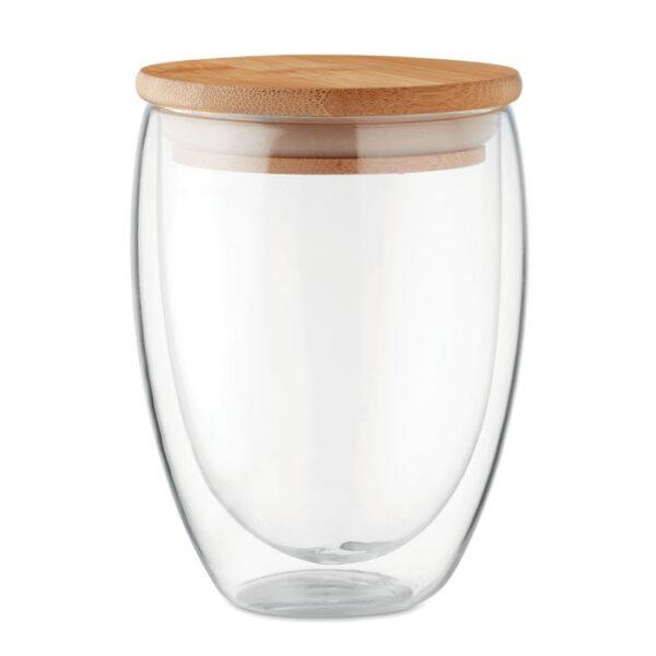 Γυάλινη κούπα με καπάκι – 9720