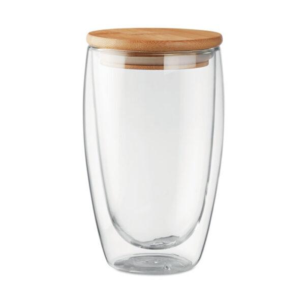 Γυάλινη κούπα με καπάκι – 9721