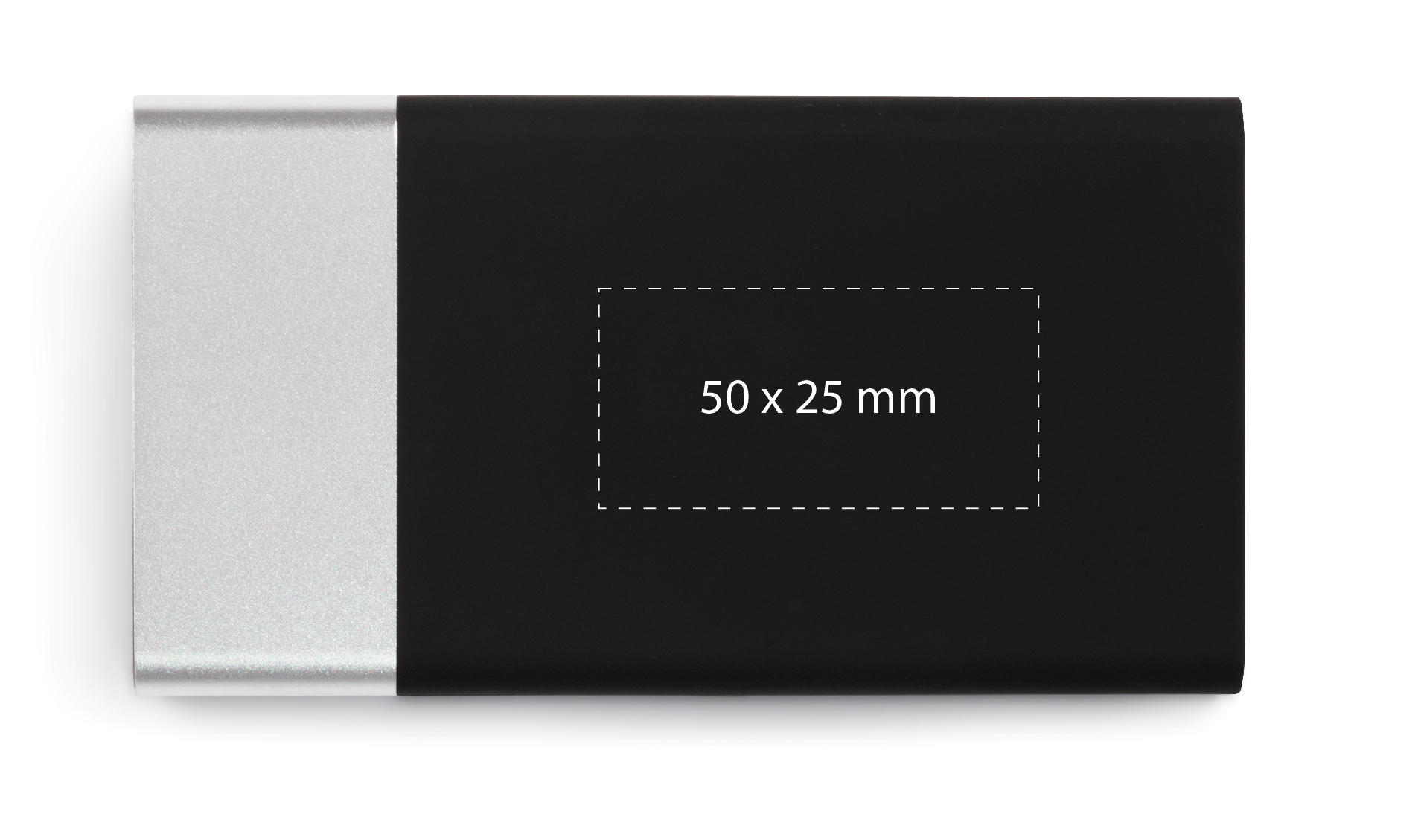 powerbank-clever-5000-p20-silver-print-area