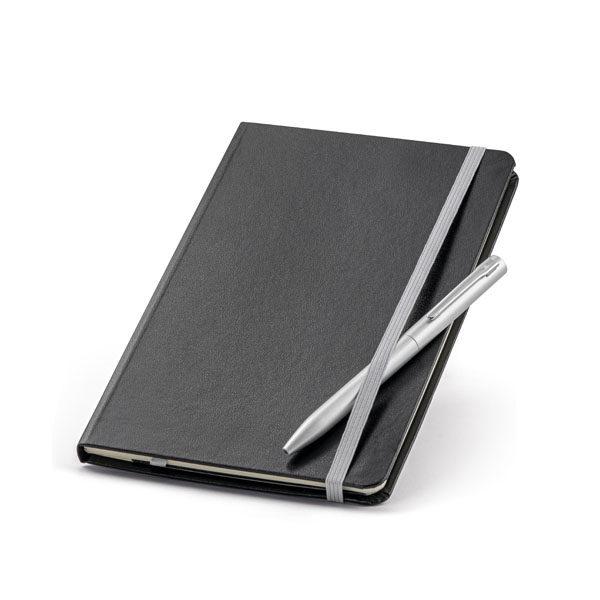 Σετ σημειωματάριο με μεταλλικό στυλό – 93714