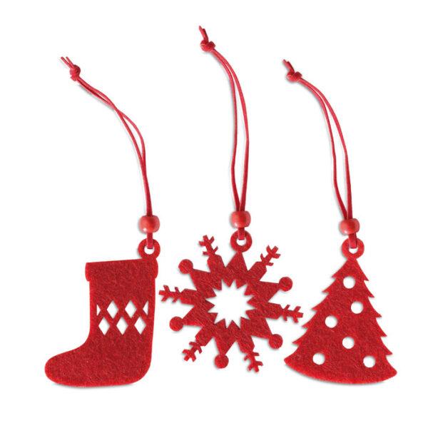 Χριστουγεννιάτικο σετ με στολίδια – 1281