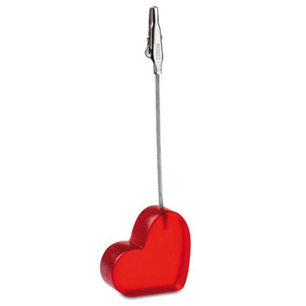 "Memo κλιπ γραφείου ""καρδιά"" – 7157"