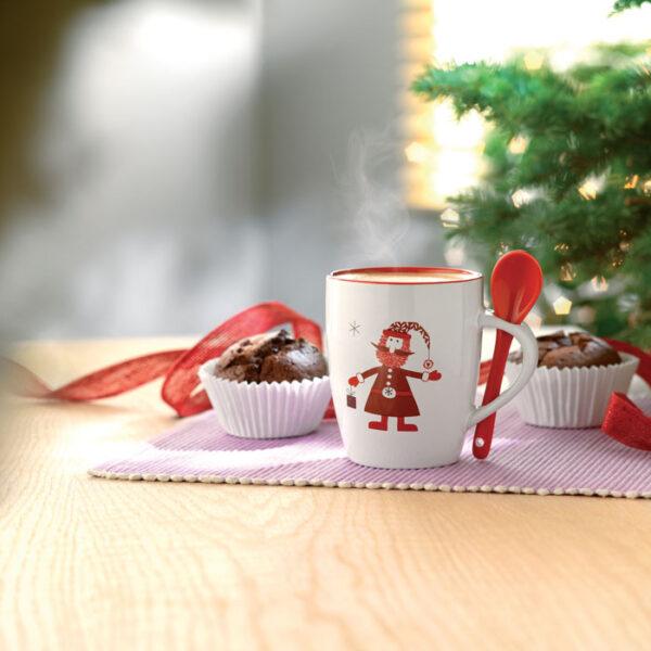 Χριστουγεννιάτικη κεραμική κούπα – 1304