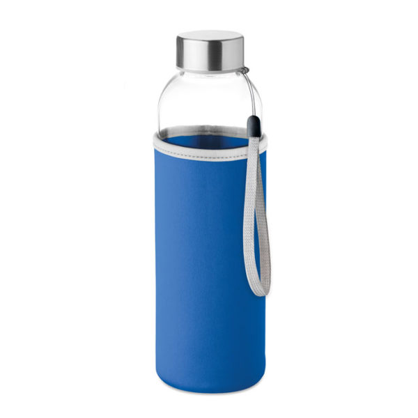 Γυάλινο μπουκάλι σε θήκη – 9358