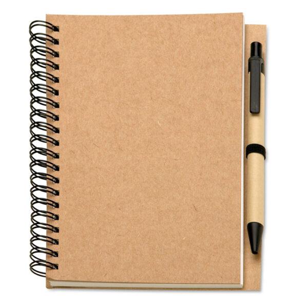 Οικολογικό σετ με σημειωματάριο & στυλό – 7012
