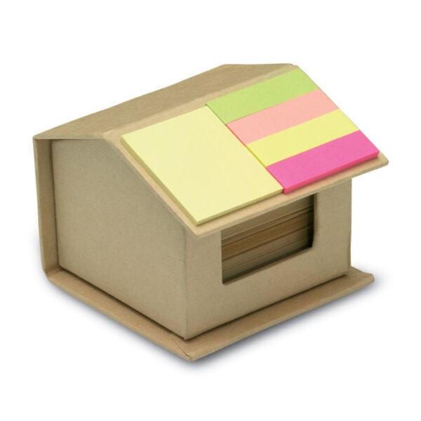 """Οικολογικό σετ σημειώσεων σε σχήμα """"σπίτι"""" – 7304"""