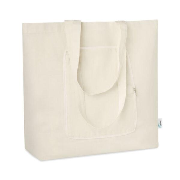 Τσάντα αναδιπλούμενη απο ανακυκλωμένο ύφασμα – 9750