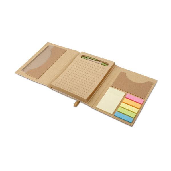 Οικολογικός φάκελος με sticky notes – 93792