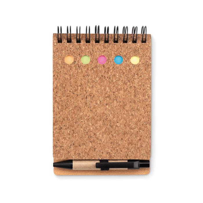 set-cork-notebook-a6-pen-9856