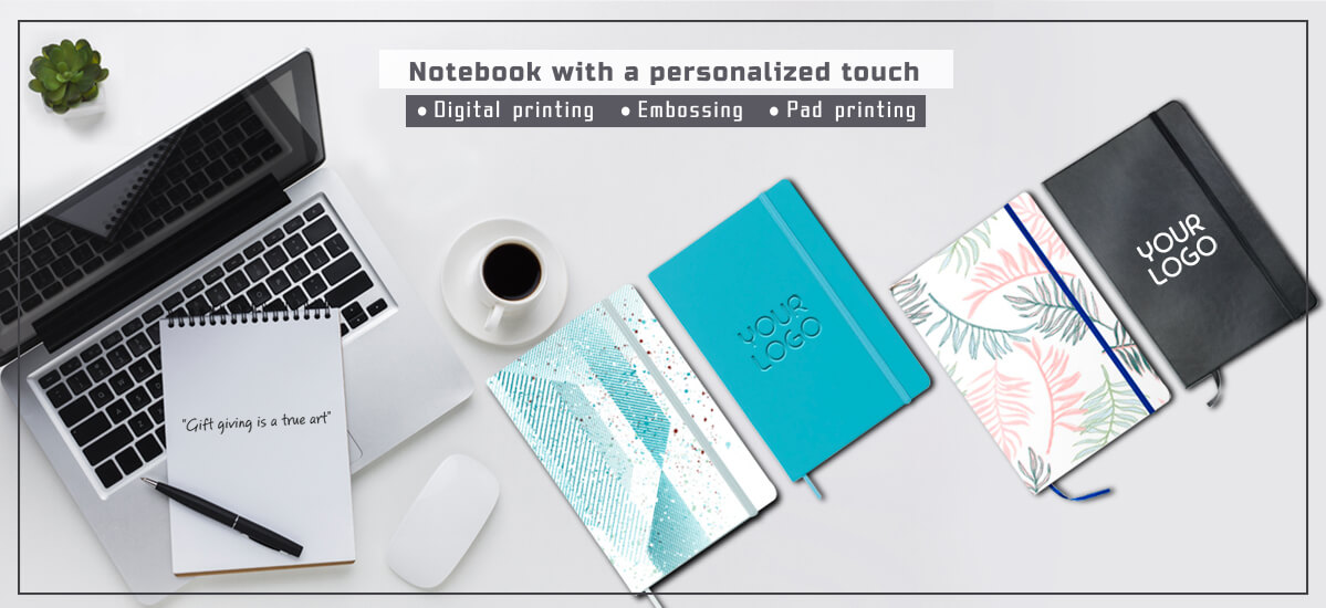 Notebook with a personalized touch - Επγγελματικά και επιχειρηματικά δώρα WE MAG.