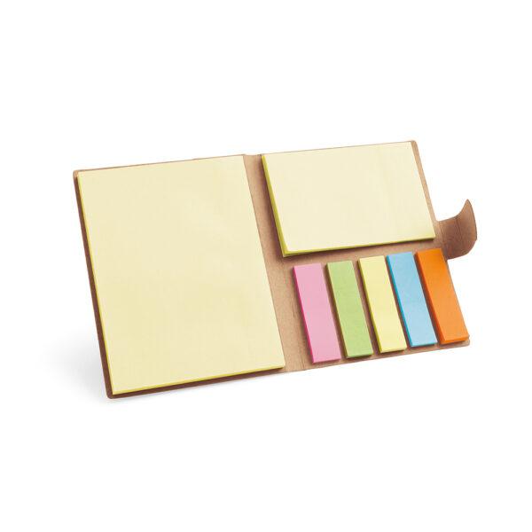 Χάρτινο σετ γραφείου με sticky notes – 93426