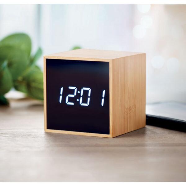 Επιτραπέζιο ρολόι απο bamboo – 9922