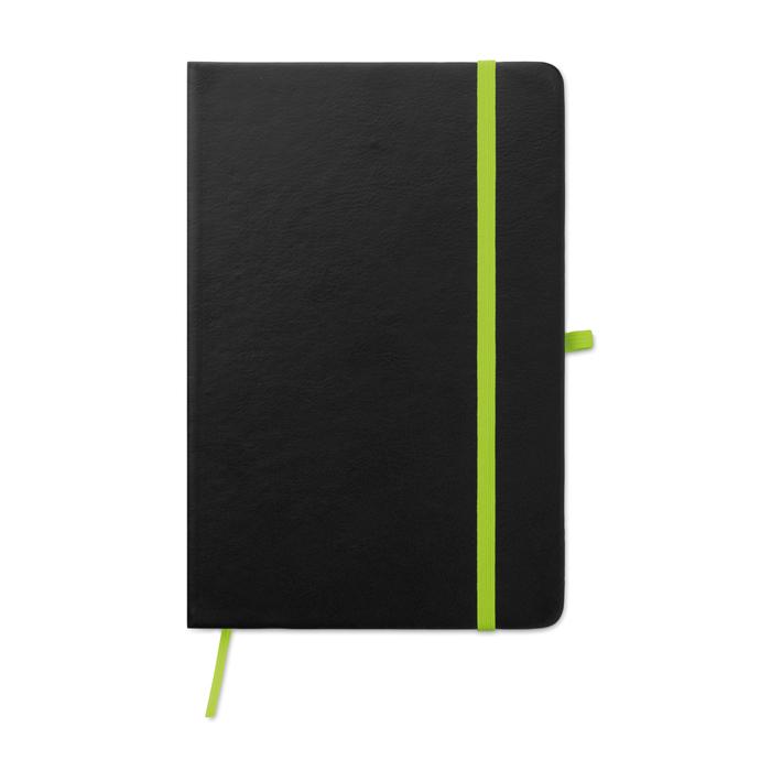 notebook-pu-laser-9422-green