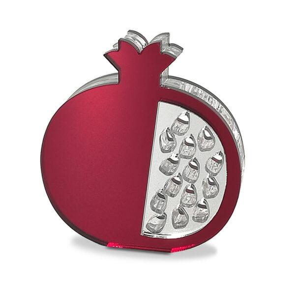 """""""Ρόδι"""" Χριστουγεννιάτικο διακοσμητικό plexiglass – 016"""