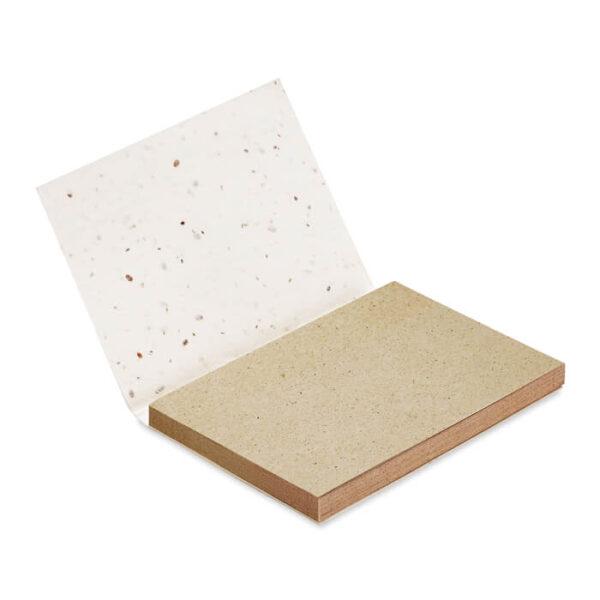 Οικολογικά χαρτάκια σημειώσεων απο γρασίδι – 6234