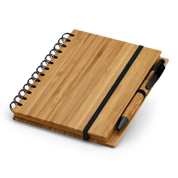 Σετ σημειωματάριο με στυλό απο bamboo – 93485