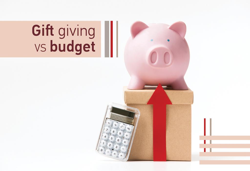Blog Gift giving vs bidget