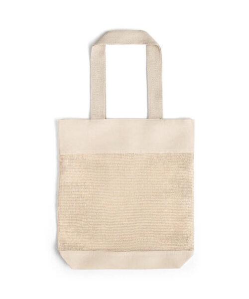Τσάντα βαμβακερή με δίχτυ – 92927
