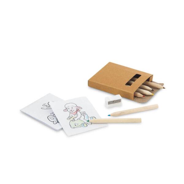 Σετ ζωγραφικής ξυλομπογιές & κάρτες – 91758