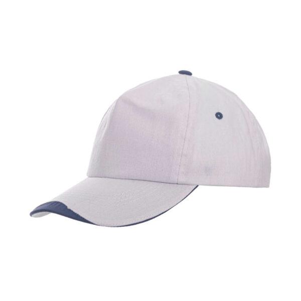 """Καπέλο """"Jockey"""" πεντάφυλλο δίχρωμο – 00826"""