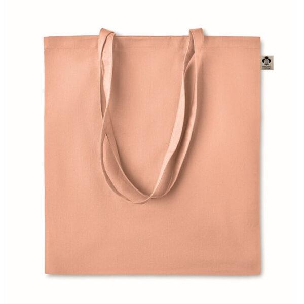 Τσάντα απο οργανικό βαμβάκι χρωματιστή – 6189
