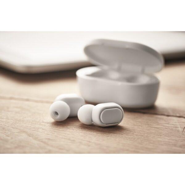 Ασύρματα ακουστικά Bluetooth 5.0 απο ανακυκλωμένο πλαστικό- 6252