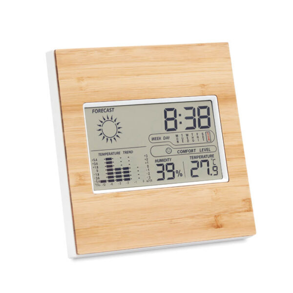 Επιτραπέζιο ρολόι απο bamboo – 9959